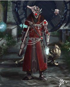 Destiny vex warlock
