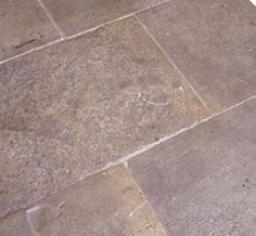 Antique grey bar flagstone quarried between 1820 and 1900 in France.