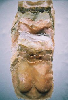 Esmay Wagemans Second Skin Instalation Art, Fabric Manipulation, Soft Sculpture, Skin Art, Art Plastique, Body Image, Second Skin, Human Body, Human Human