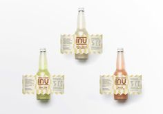 Inu – #Craft #Soda #Label #Design. Designed by: Abhi Topiwala, New Zealand. https://goo.gl/gcb2dP
