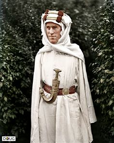 """T.E Lawrence """"Lawrence of Arabia"""" photo taken by Harry A. Chase in London, September 1919"""