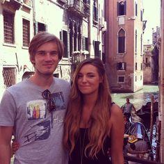 We're in Venice :)