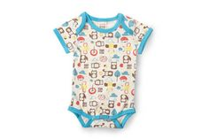 Brand new Mezoome Baby Bodysuit! This cute Bodysuit is made of high quality, very soft, organic cotton that you can wash over and over again; The pattern i Baby Patterns, Baby Bodysuit, Organic Cotton, Onesies, Rompers, Brand New, Cute, Kids, Clothes