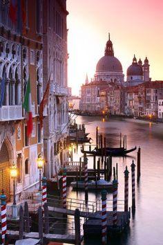 Grand Canal, Venice, Italy. Volver