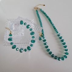 Emerald Green set