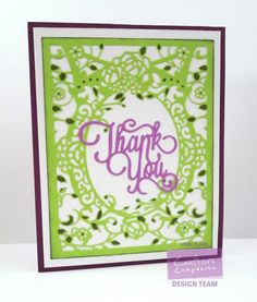 Decorative card featuring new Die'sire Create-a-Card Everyday dies from Crafter's Companion. Designed by Jodi Clark. #crafterscompanion