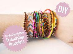 DIY Bracelet: DIY Jewelery: DIY Friendship Bracelets