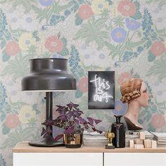 Papier peint - Sandberg - Lisa - Grey/Black