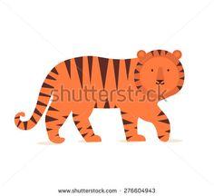 Стоковые вектора и векторный клип-арт Tiger | Shutterstock