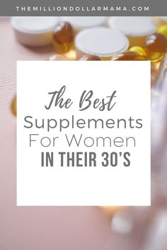 For a lot of women, the big 3-0 is a turning point when it comes to their health. Here are the best supplements for women in their 30's. Supplements For Women, Best Supplements, Things To Come, Good Things, Healthy Lifestyle Tips, Living A Healthy Life, Eat Right, How To Stay Motivated, Eating Well
