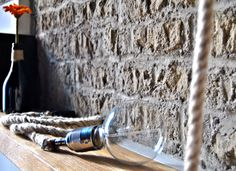 CANAPA lampada pendant in corda