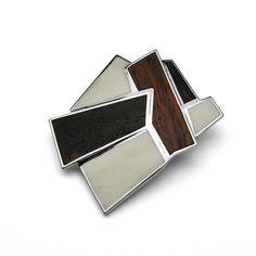 anillo de madera y plata de martha vargas... like it!