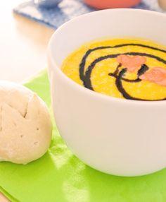 Am Ostermontag gab es bei Jess eine Karotten-Suppe mit Hasibrot