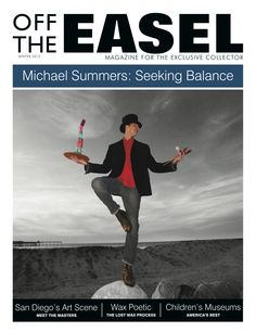 Michael Summers featured in Off the Easel Magazine!