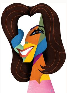 Eva Longoria (caricature) by David Cowles (Dunway Enterprises) http://masterpaintingnow.com/how-to-draw-everything?hop=dunway
