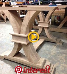 Trim on the curved legs is on I cant decide if I like this better or these legs AHB İNŞAAT DEKOR BuyThenNow is part of Woodworking furniture Trim on the curved legs is on I cant decide if I - Furniture Projects, Table Furniture, Rustic Furniture, Online Furniture, Vintage Furniture, Wood Table Design, Dining Table Design, Dining Table Legs, Wooden Dining Tables