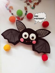 New sewing for beginners patterns step by step stitches 45 ideas - Nähen Ideen Halloween Ornaments, Halloween Crafts, Halloween Decorations, Felt Ornaments Patterns, Felt Patterns, Beginner Sewing Patterns, Sewing For Beginners, Sewing Ideas, Felt Diy