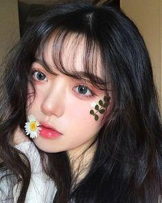 Korean Beauty Girls, Pretty Korean Girls, Cute Korean Girl, Cute Makeup, Beauty Makeup, Makeup Looks, Asian Makeup, Korean Makeup, Uzzlang Girl
