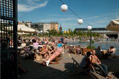 Cargo Zomerbar in #Antwerpen www.newplacestobe.com