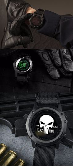 Garmin Tactix Bravo, Black with Nylon Strap EDC tactical watch for military special operators - EDC Everyday Carry