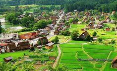 Shirakawa-go y Gokayama son unas antiguas aldeas de montaña consideradas desde 1995 como Patrimonio Mundial de la Humanidad por la Unesco.  #nowyoudecide the PRICE to pay of your #trip #makeyourwish ✈ #ahoratudecides el PRECIO a pagar por tu #viaje #pidetudeseo