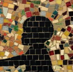 mosaic silhouette in london