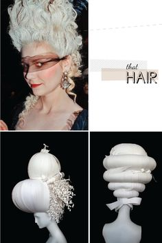 marie antoinette hair, in love with this style