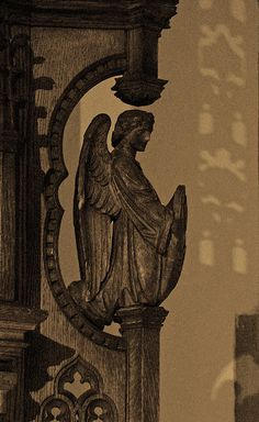 Angel in Leeds Cathedral <3 Cemetery Angels, Cemetery Art, Angels Among Us, Angels And Demons, Entertaining Angels, Art Français, I Believe In Angels, Ange Demon, Angel Statues