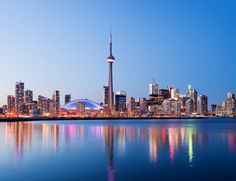 Dominating the Toronto Skyline, the CN Tower is must-do activity for any visitor © Deejpilot / Getty Images Shangri La, Vancouver, Ripley Aquarium, Discover Canada, Toronto Island, Downtown Toronto, Toronto Skyline, Royal Ontario Museum, Spa