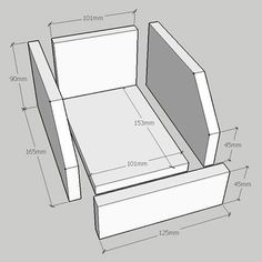 Make basic workshop storage boxes - or use a router or table saw to route a slot to divide the boxes into sections with 3mm Masonite or Plywood.