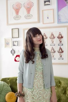 love her style and home    Fancy Fine / Mint on Mint