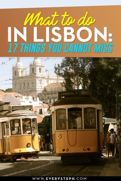 Where to go in Lisbon? Good question. Lisbon is a great destination, and incredible when traveling on a budget! From the colorful Lisbon tiles to the famous tram, there is lots to do, without forgetting the yummi Lisbon food! This is a Lisbon travel guide + tips for unusual things to do. Discover a Lisbon off the beaten path that you need to include in your Portuguese itinerary! - What To Do in Lisbon: 17 Things To Do in Lisbon Off the Beaten Path [ Portugal, Europe ]   EverySteph