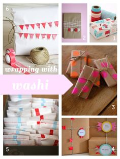 a spots': wrapping with washi tape