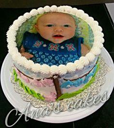 Baby Sunday's cake