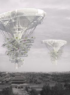 skyscraper competition generates green ideas, china