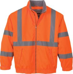 "North End Insulated ""Vertical Stripe"" Safety Jacket 88705 from X-it Corporate"