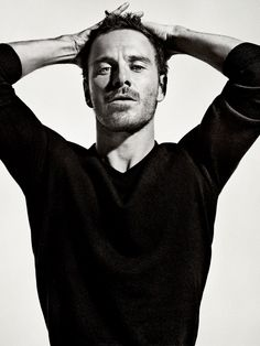 I'm not really the 'I like hot guys type of gal' but there's just something about Michael Fassbender....