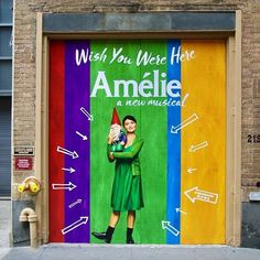 Our box office is officially open! Snap a photo in front of the Walter Kerr Theatre and share it using #AmelieBroadway for the chance to win one of five pairs of tickets.