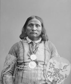 Native American - Kiowa man