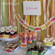 Creating the ultimate cupcake buffet