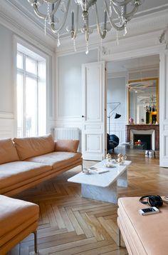 Un apartamento de estilo Haussmann en Burdeos - deseo de inspirar…