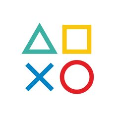 Video Game Symbols, Playstation Logo, Game Wallpaper Iphone, Gaming Wall Art, Lets Play A Game, Game Logo Design, Supreme Wallpaper, Gamer Humor, Pop Culture References