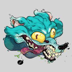 Character Design, Digital Art & Illustrations by T Wei 8 Cartoon Styles, Cartoon Art, Character Illustration, Illustration Art, Art Illustrations, Photographie Street Art, Posca Art, Photographie Portrait Inspiration, Copics
