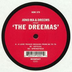 Jono Ma | Dreems - The Dreemas (Kompakt) #music #vinyl #musiconvinyl #soundshelter #recordstore #vinylrecords #dj #Techno