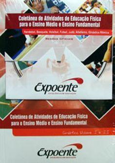 Livro Coletânea de Atividades de Educação Física - ISBN 9788598008646