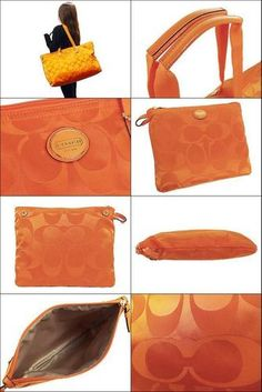 'NWT-Coach Weekender-Orange Spice-' is going up for auction at  4pm Mon, Oct 14 with a starting bid of $1.