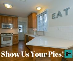 Do you have a great kitchen design? Excellent storage options? We want to see your pics! #kitchen #design #storage