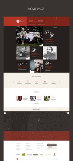 ETHNOGRAPHY MUSEUM // Redesign concept [FREE PSD] on Behance
