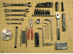 Homemade Motorcycle Tool Roll - The Garage Journal Board