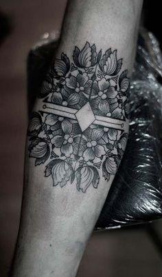 Tatuaje mándala